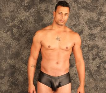 Spandex mens swimwear