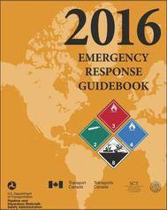 Front cover of the 2016 Emergency Response Guidebook