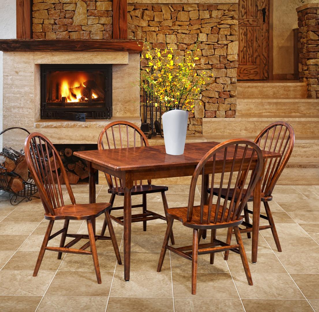 Dining Room Furniture Amish Attic Furniture Mentor Ohio - Shaker dining room chairs