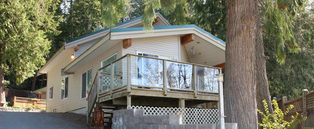 One of our vacation rentals in Blind Bay, BC