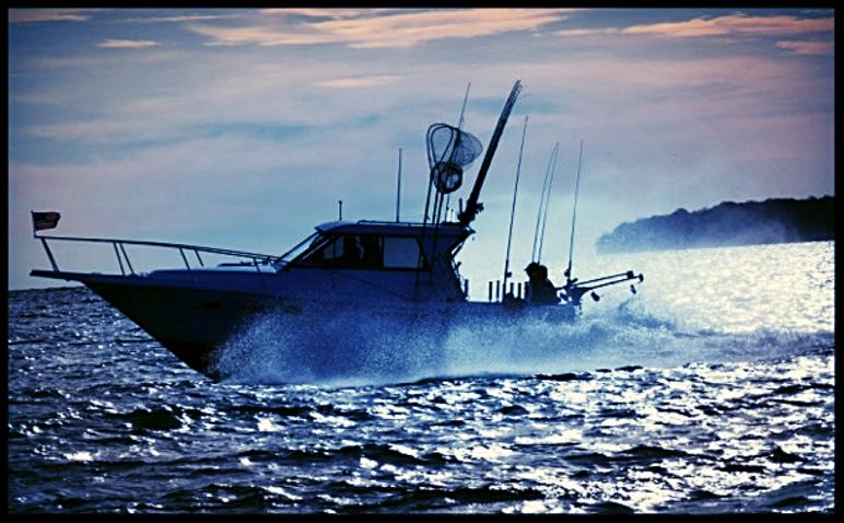 Lake ontario fishing charters aboard the legacy for Fish hawk x4