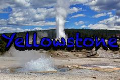 Yellowstone Geysers hot springs old faithful nature landscape
