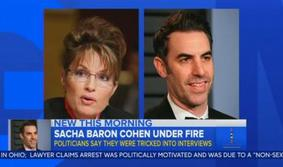 ABC: Can't Say If Comic Impersonating a Vet Is 'Crossing the Line' sarah palin