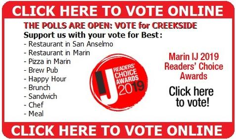 Vote for Creekside