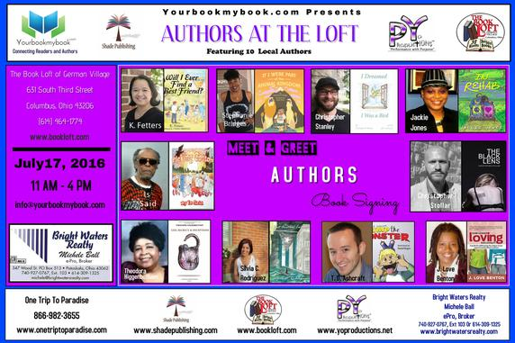Event Authors at The Loft