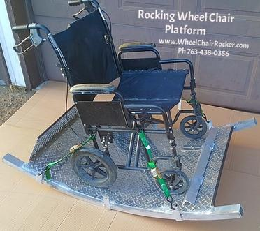 Admirable Portable Rocking Wheelchair Platform Wheelchair Rocker Gmtry Best Dining Table And Chair Ideas Images Gmtryco