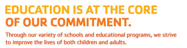 Education is at the core of our commitment