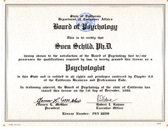 what is a licensed psychologist