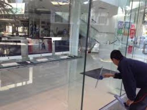 STORE WINDOW CLEANING SERVICES FROM RGV Janitorial Services