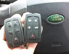 Land Rover Freelander key