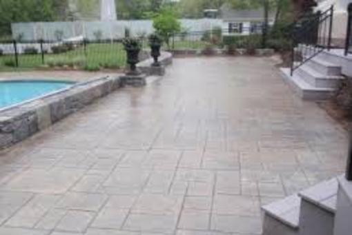 Excellent Stamped Concrete Patio Contractor and Pricing in Milford NE| Lincoln Handyman Services