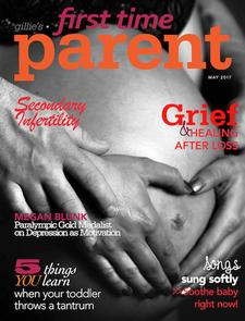 Grief Diaries article in First Time Parent