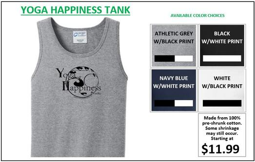 Yoga Happiness Tank Top