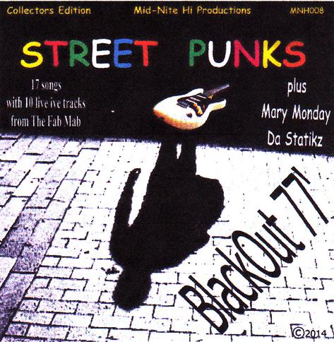 Street Punks Band, New Wave Rock Band, Collector's edition C.D.