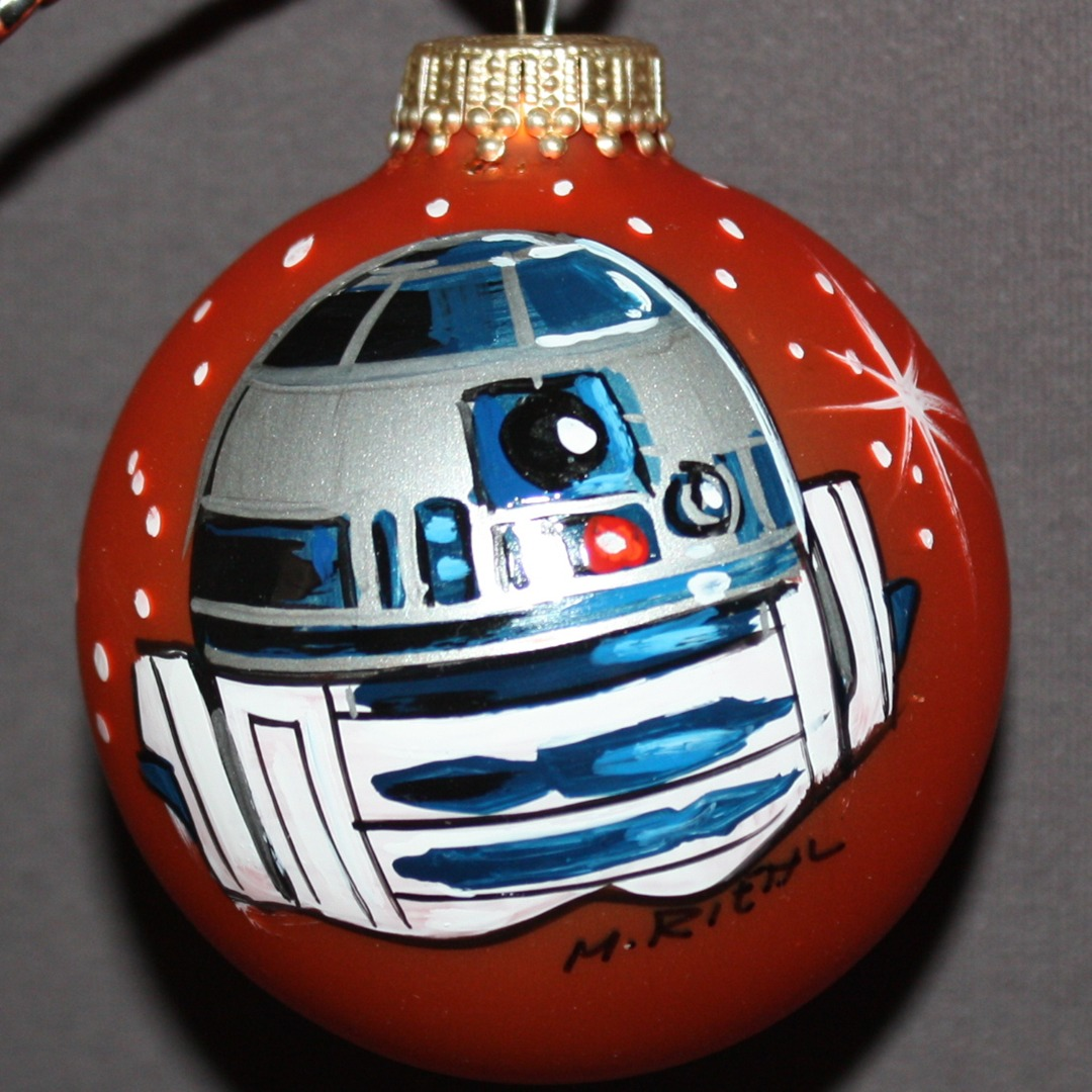home of the hand painted ornament its always christmas here