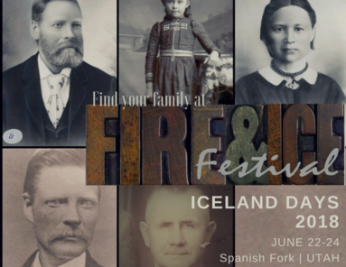 Fire and Ice Festival at Iceland Days, Spanish Fork Utah