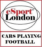 Cars playing Football