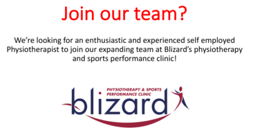 Physiotherapist Opportunity