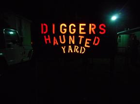 Digger's Haunted Yard