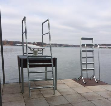 Standard Ladder with diving board