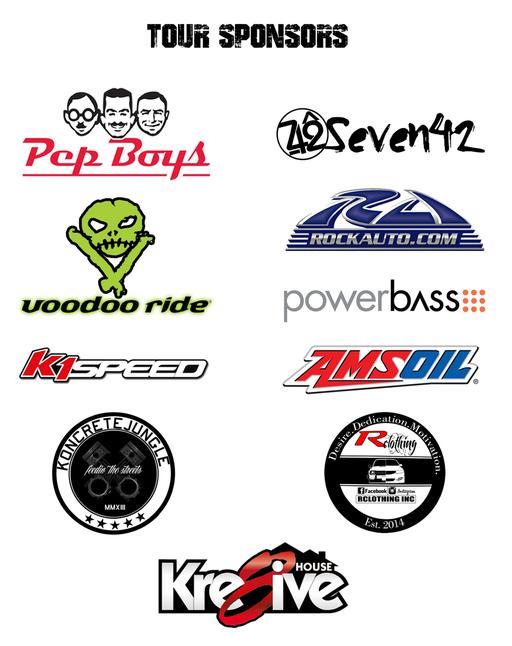 Illest Car Show Tour - Car show categories