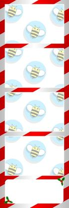 Bumblebee Booths Photo Strip sample #45