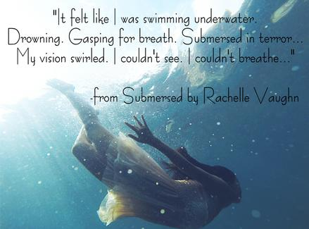 Submersed by Rachelle Vaughn book quote intimate erotic book las vegas painter