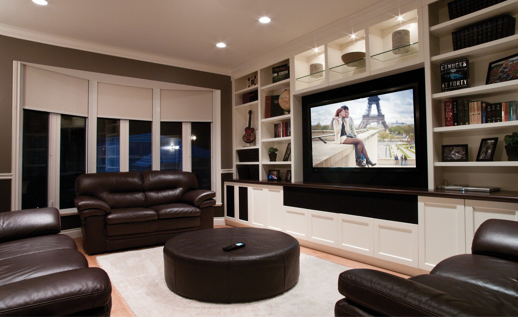 Audio Visions LaRussa Design Group Home Theater Home Sound - Home theater design group