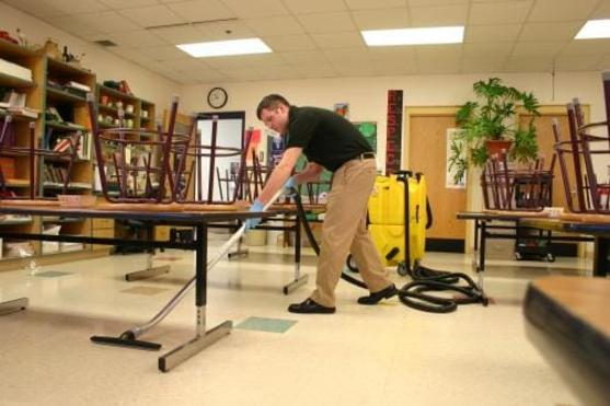 School Cleaning Services and Cost Edinburg Mission McAllen TX RGV Janitorial Services