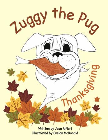 Zuggy the Pug Thanksgiving