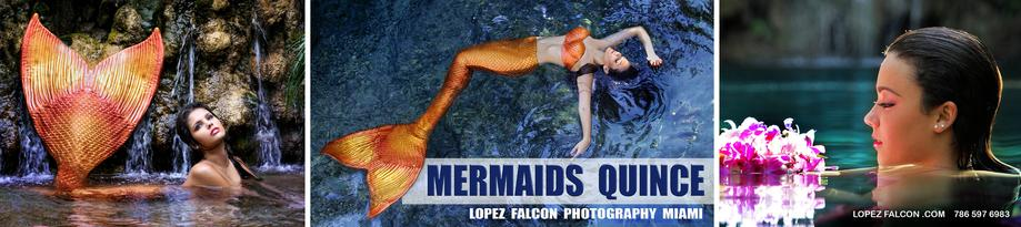 MERMAIDS QUINCEANERA PHOTOGRAPHY MIAMI