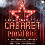 Miami events; Madona; Cabaret; Singing; Night Club; South Beach; Miami Beach