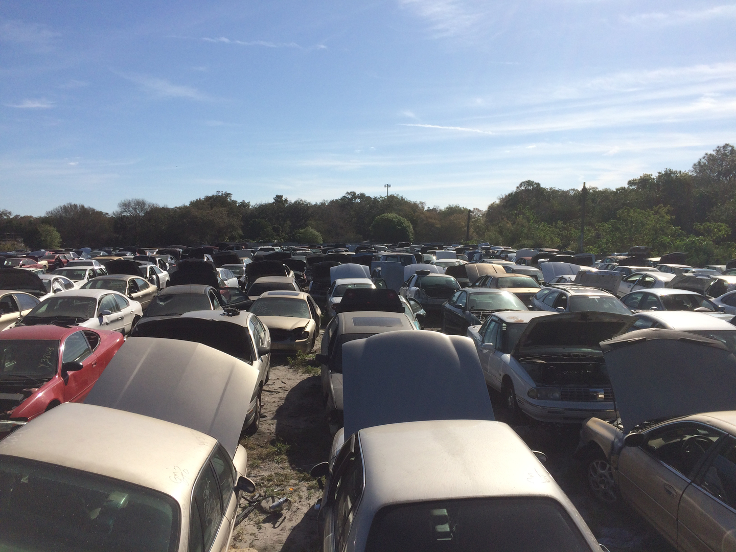 Selling used auto parts, buying junk cars - A&A Auto Recycling