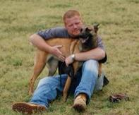 Metropolitan K-9 head trainer Greg Williams and Asja PSA 3