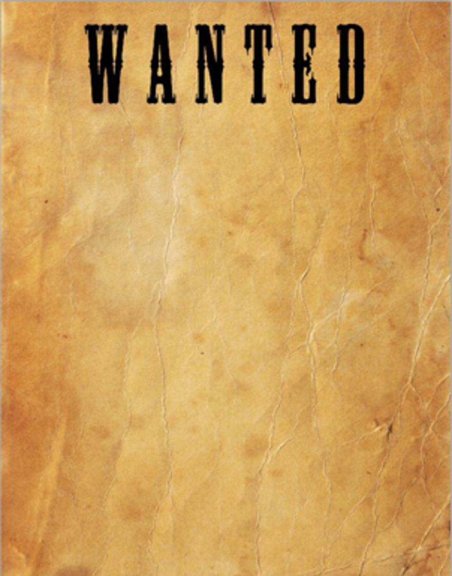 blank wanted poster template tims - Thetoastmaster.co