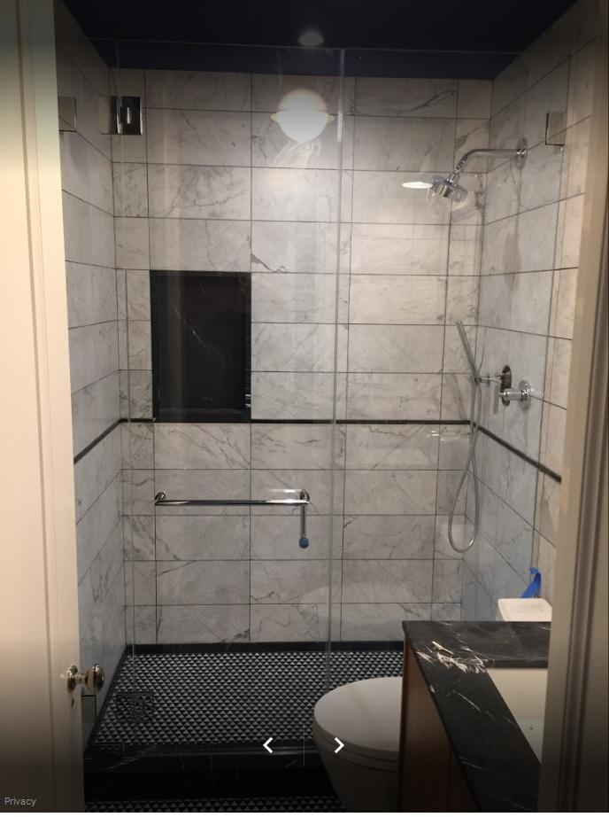 Glass & Mirrors, Custom Shower Enclosure - Shapiro Glass Corp ...