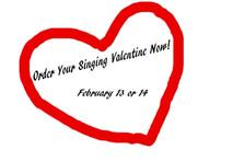 Like to Singing Valentine order form