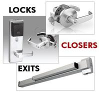 Locks, Door Closers , Exits. Commercial Locks