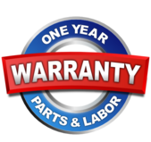 Katy appliance repair one year warranty