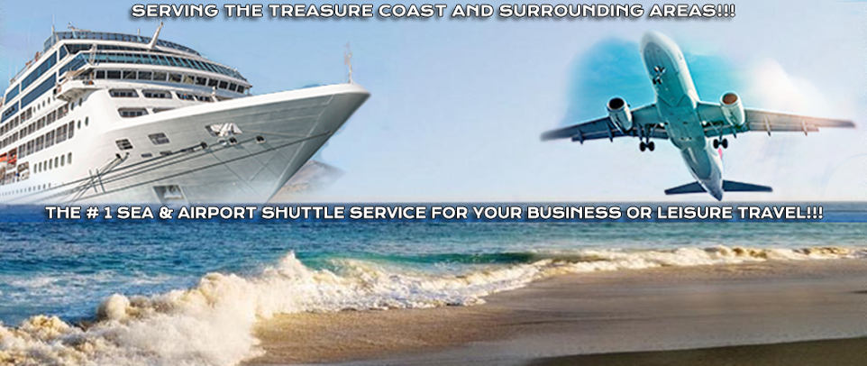 The Number 1 Airport Shuttle Service on The Treasure Coast