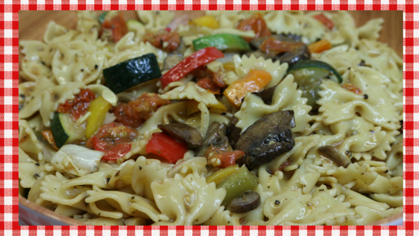 Roasted Vegetable Pasta Salad Recipe, Noreen's Kitchen