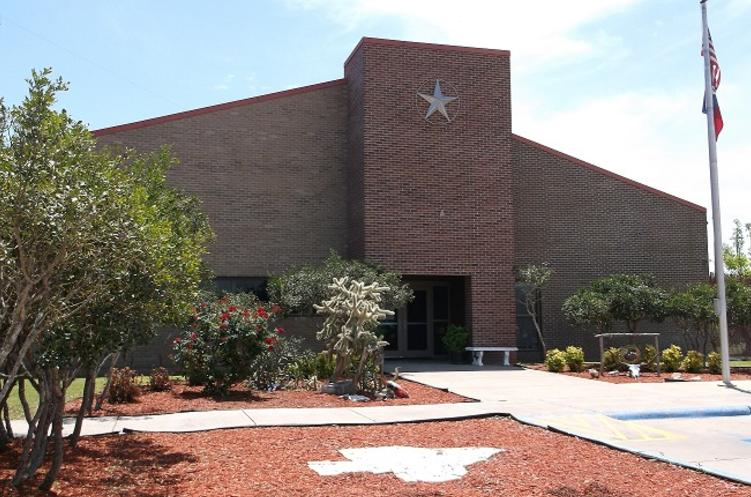 exterior shot of Goliad County Sheriff's Office building