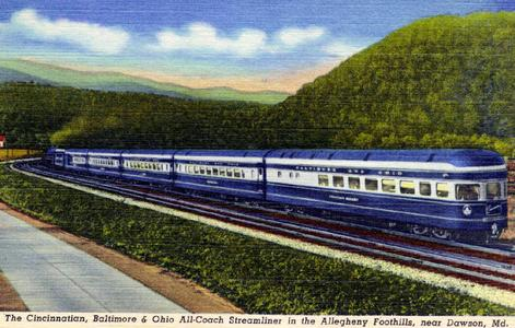 The Cincinnatian - In service between Cincinnati, Washington, D.C. and Baltimore.
