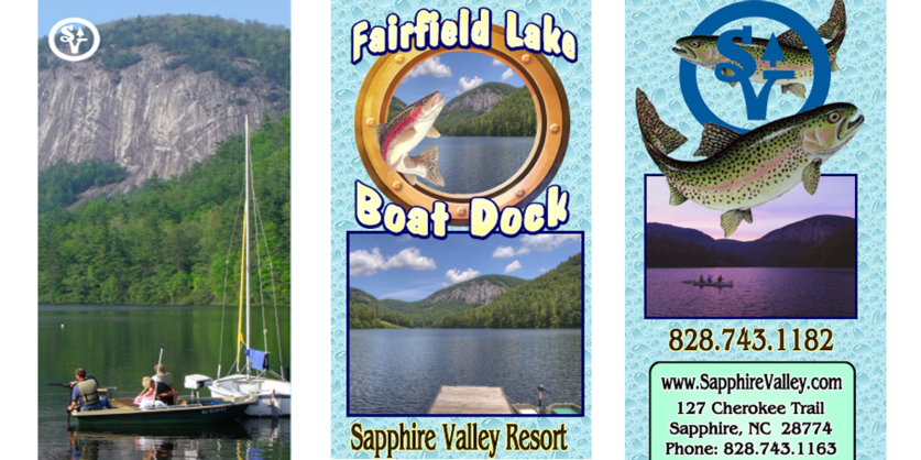 Boat Dociks, Swimming, Sapphire Valley Resort, High South Adventures