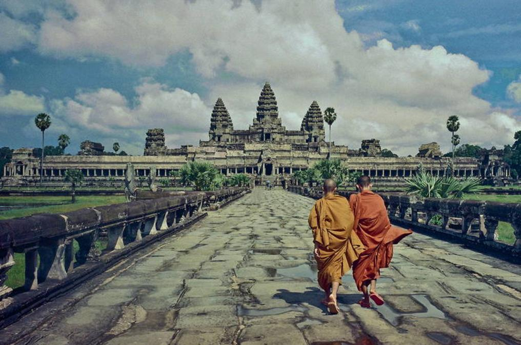 angkor wat temple in cambodia, worlds finest temple