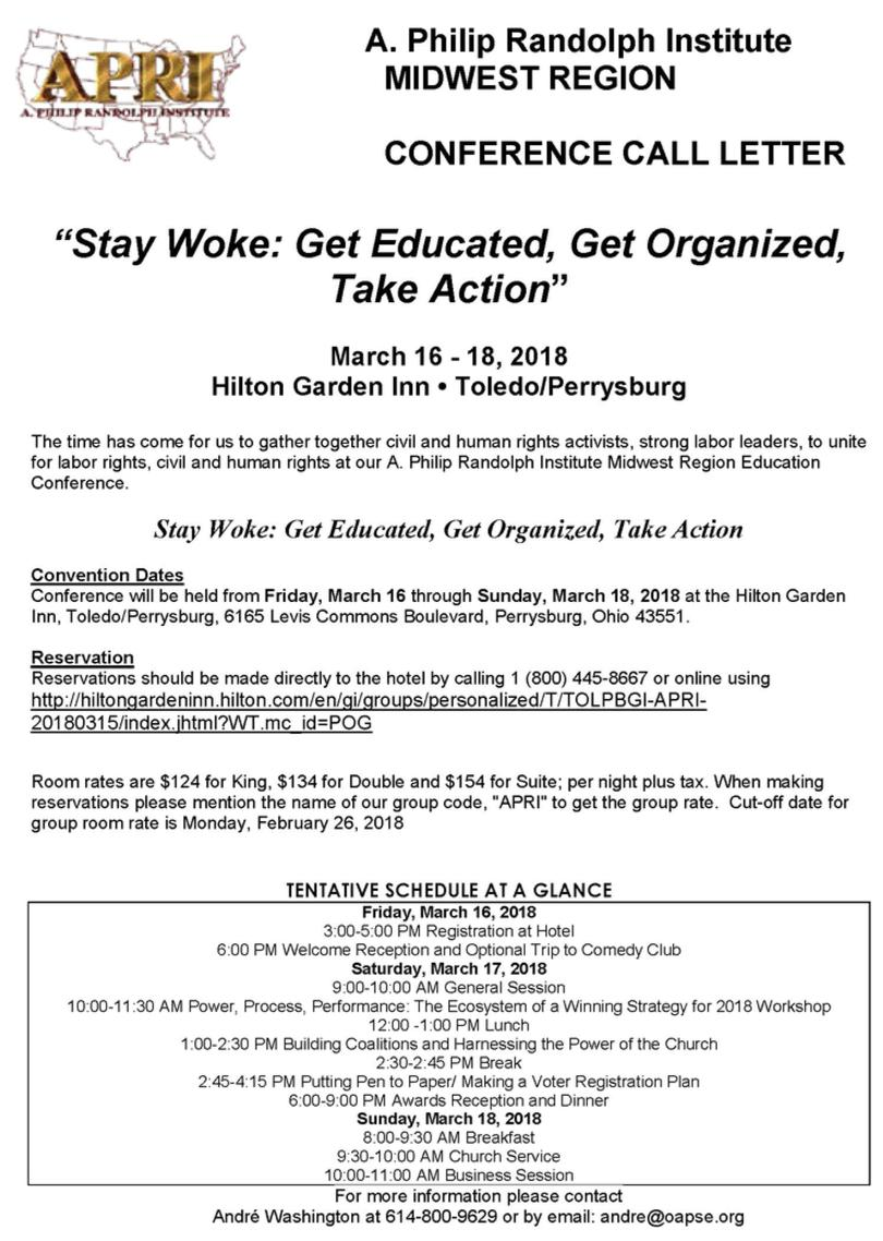 2018 Midwest Region Education Conference