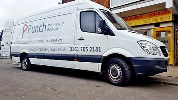 Punch Property repairs One Stop All Trades in Bury Manchester