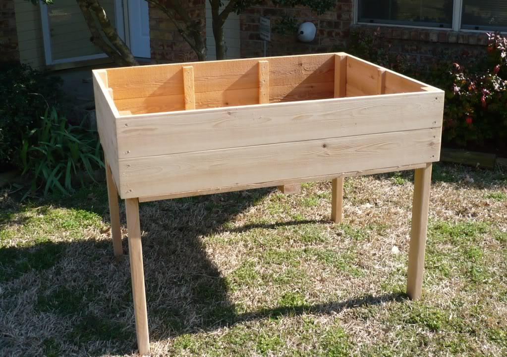 Raised Planting Tables