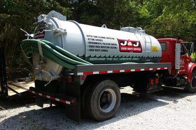 Septic Tank Services | J & J Liquid Waste | Anderson South Carolina