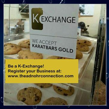 Shop with Gold at any K-Exchange Business!